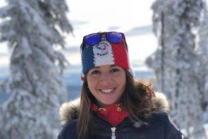 Portrait de Célia Martinez,Célia Martinez, une professionnelle du ski de vitesse clermontoise
