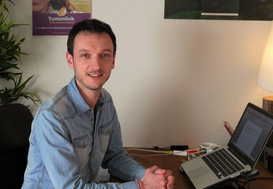 Pierre Le Roux, fondateur de Yumanlink