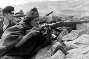 Combat Guerre d'Espagne