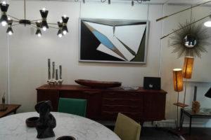 Vue de l'intérieur de la Galerie Möbel
