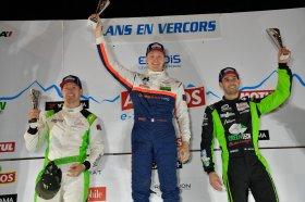 Le podium de Lans en Vercors - Trophée Andros 2019/2020