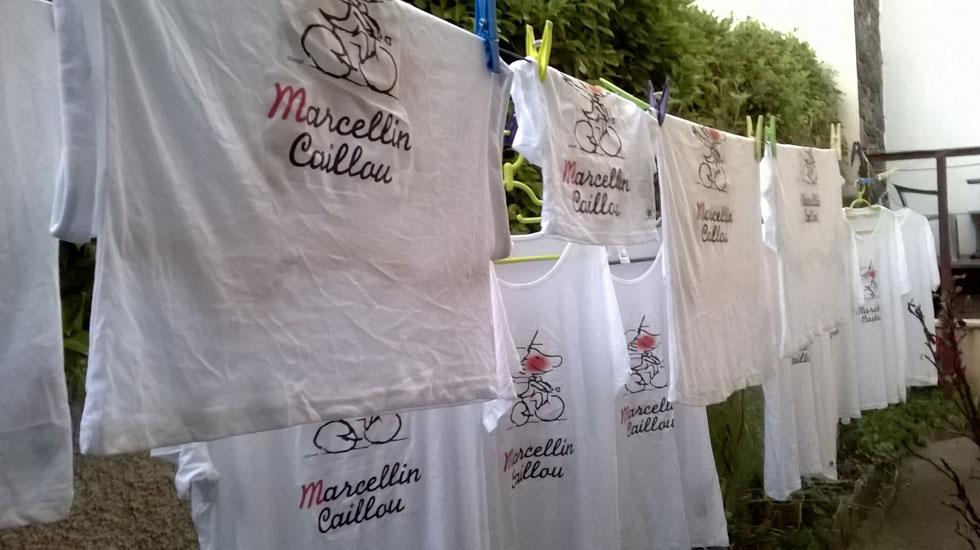 Lessive de T Shirts Marcellin Caillou