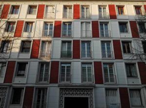 Façade typique d'un immeuble Vigneron / Photo O.Perrot