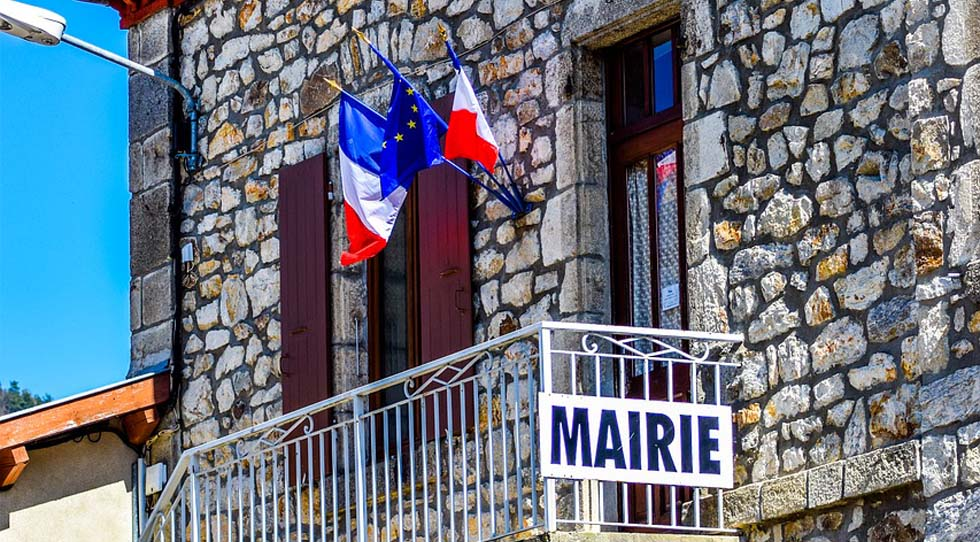 Photo d'une mairie de bourg