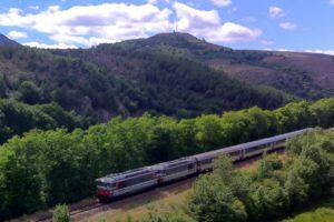 Le train Cévenol près de Prévenchères