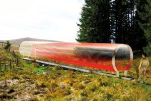 Oscillations oeuvre M. Cosson A.Verglas pour Horizon Sancy 2020