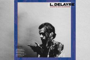 Visuel du single «Corps en guerre» de L. Delayre