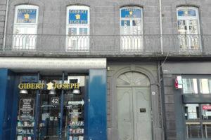 façade de la libraire Gibert à Clermont