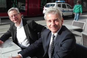 J.P. Brenas et E. FAidy candidats LR LREM aux municipales de Clermont / Photo 7 Jours à Clermont