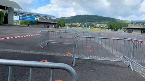 Des conditions de sécurité sont prises à la Grande Halle d'Auvergne.