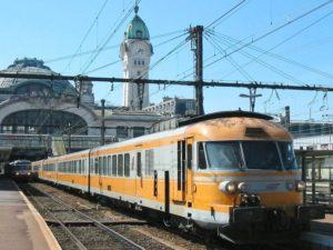 Le Turbotrainen gare de Limoges