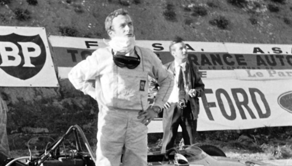 Jean-Luc Salomon au départ du GP de Formule France 1969