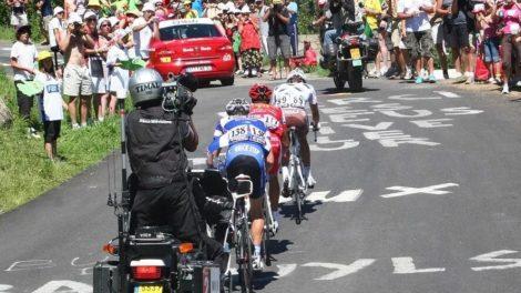 Le grand spectacle du Tour de France.