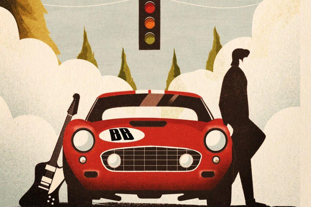 L'affiche de la prochaine tournée de Benjamin Biolay.-Prix
