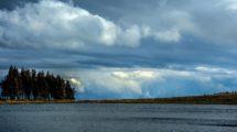 Le superbe paysage du Lac de Servières.