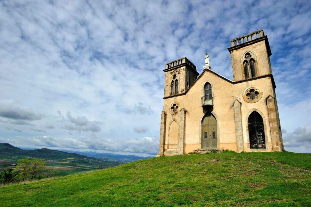 La chapelle Notre-Dame-de-la-Salette.