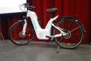 Alpha, le vélo à Hydrogène de Pragma Mobolity