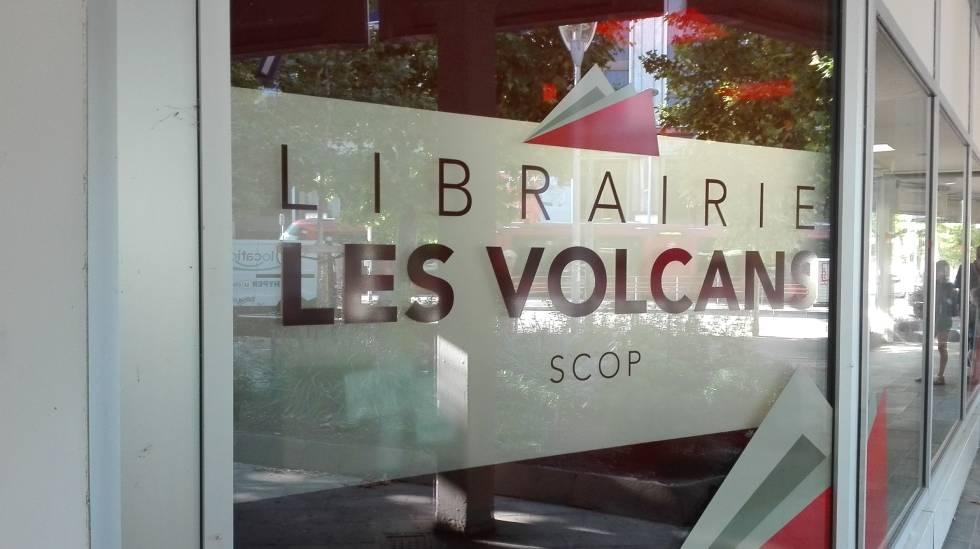 Vitrine Librairie Les Volcans