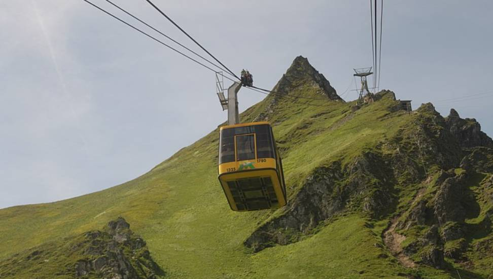 Téléphérique du Sancy / Photo Wiki Média