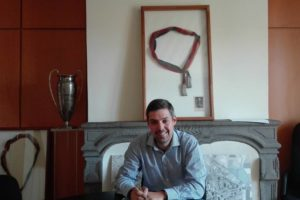 Sylvain Casildas, maire d'Aubière / Photo DR