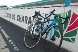 Vélos sur le circuit de Charade / Photo 7 jours à Clermont
