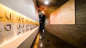 Vue de l'intérieur du Silo, réalisation de E. Souto de Moura