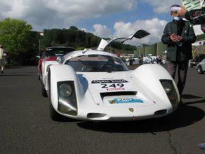 Porsche 906 sur Tour Auto 2020