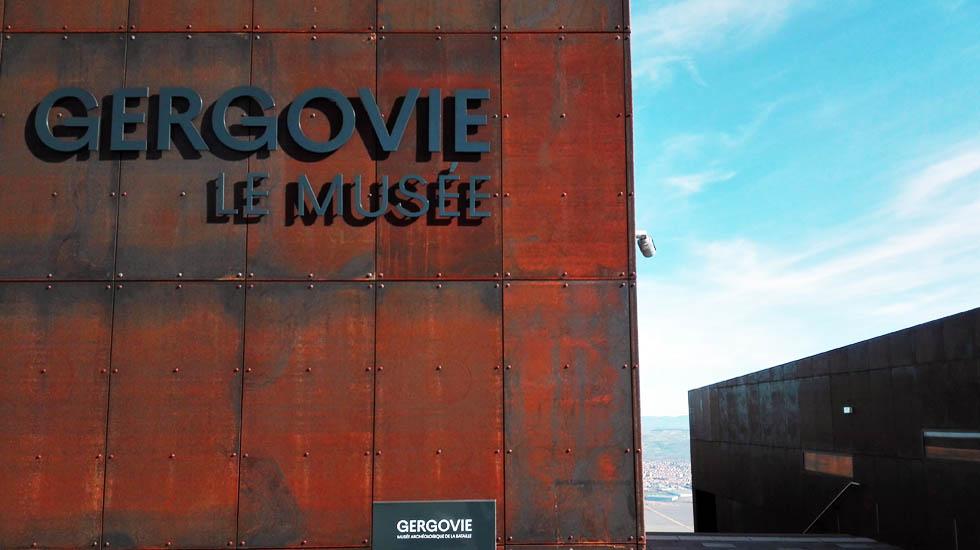 façade du musée de gergovie