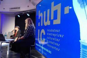 Conférence de presse de la promotion 20/21 HUB-IC