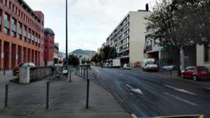 Avenue de l'Union Soviétique depuis vue depuis l'Avenue Michelin l'avenuesens nord