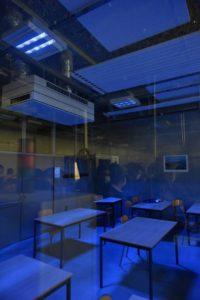 Les UV-C en action au Lycée Lafayette / Photo Conseil Régional AURA