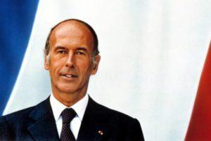 Portrait officiel VGE/ Photo Jacques-Henri Lartigue