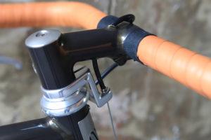 La potence du vélo Victoire Berluti