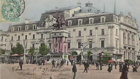 Clermont à la belle époque et sans voiture / Photo DR
