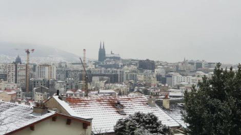 Clermont sous la neige