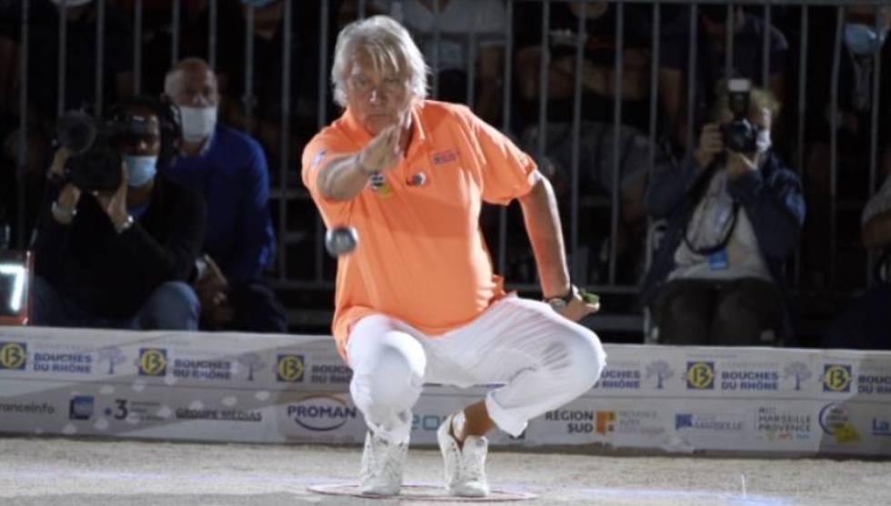 Marco Foyot lors de la dernière finale de la Marseillaise / Photo Facebook M. Foyot