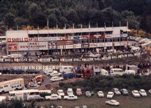 Ancien restaurant de Charade années 70 / photo X