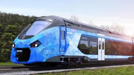 Régiolis, train à hydrogène d'Alstom / photo SNCF