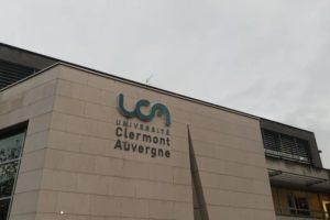Fronton UCA bld Mitterrand, Clermont