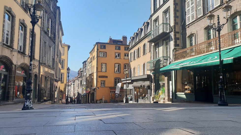 Rue des gras depuis la cathédrale / Photo 7 jours à Clermont