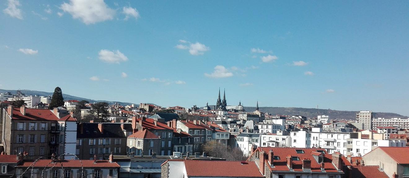 Clermont vue de sud-est