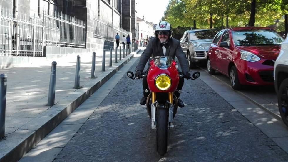 DGR : pratiquer la moto avec élégance et pour la bonne cause. / Photo O. Perrot