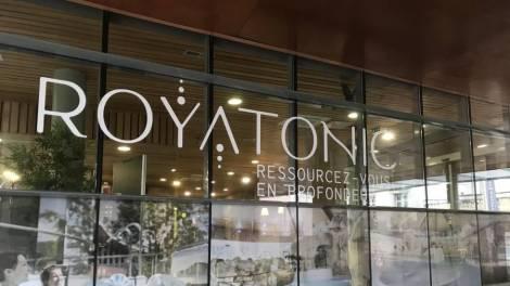 Entrée de Royatonic / photo Eloïse Gerenton