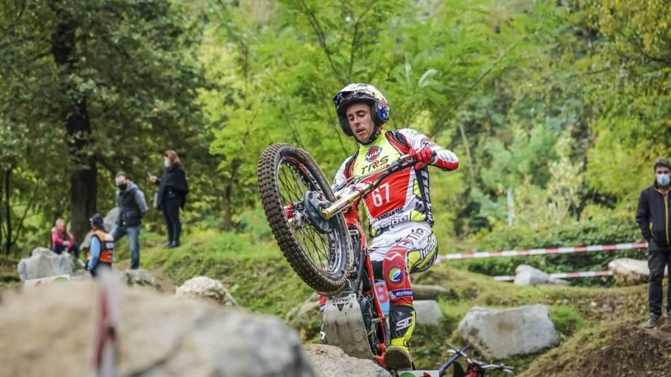 Adam Raga, multiple champion du Monde indoor et outdoor / Photo FIM - Pep Segales