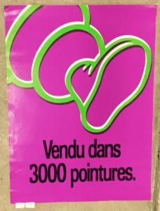 Affiche Michelin années 80
