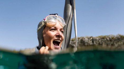 Alice Modolo aux Bahamas. (D. Verhoeven)