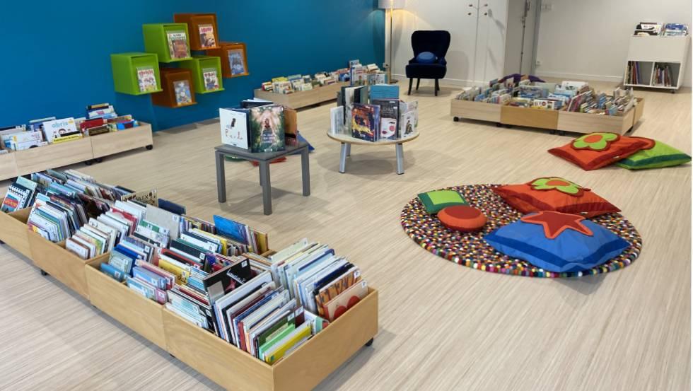 Bibliothèque Cadou, Beaumont, espace enfants