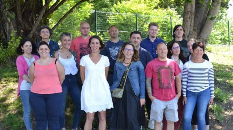L'équipe d'Inserfac / Photo DR