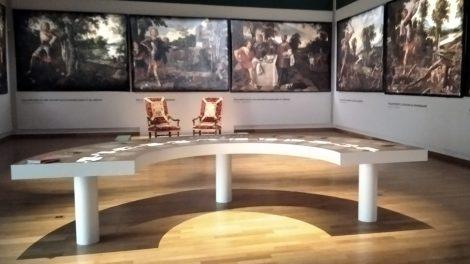 exposition Roland furieux au MARQ : photo E. D'Aversa