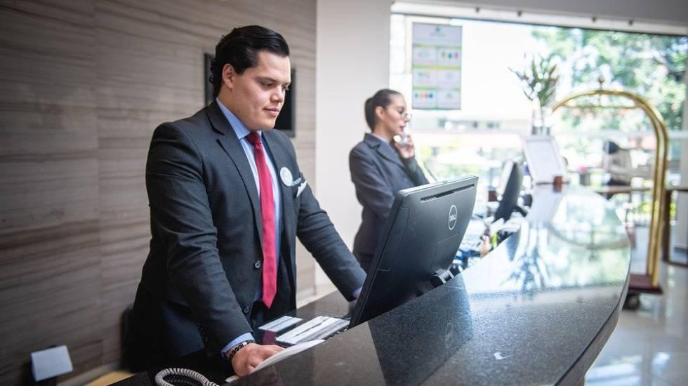 réceptionnistes